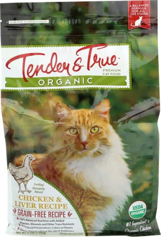 Tender & True Cat Food: Chicken & Liver Dry Recipe